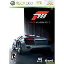 Forza Motorsport 3 - Manual Pt Br - Original Impecável