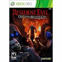 Resident Evil Operation Raccoon City Xbox 360 Ntsc Lacrado