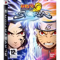 Jogo Ps3 Naruto Ultimate Ninja Storm Original Lacrado