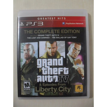 Gta 4 Grand Theft Auto Iv & Episodes From Liberty City Ps3