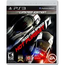 Jogo Need For Speed Hot Pursuit Mídia Física Original Ps3