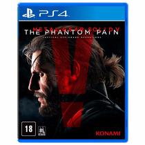 Ps4- Jogo Metal Gear Solid V:the Phantom Pain-leilão R$1,00