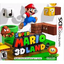 Jogo Super Mario 3d Land Nintendo 2ds 3ds 3dsxl