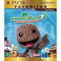 Little Big Planet 2 Special Edition Ps3 Mídia Física Lacrado