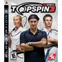 Top Spin 3 Ps3 100% Qualificações Positivas