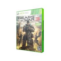 Gears Of War 3 Em Português (jogo Original Xbox 360)
