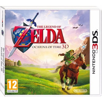 Legend Of Zelda Ocarina Of Time 3d - Lacrado Pronta Entrega