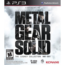 Jogo Metal Gear Solid The Legacy Collection Ps3 Frete Grátis
