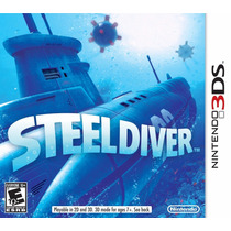 Jogo Nintendo 3ds Steel Diver Original Lacrado