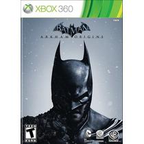 Batman Arkhan Origins + Dlc - Em Português - Xbox 360 - Novo