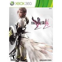 Xbox 360 Final Fantasy Xiii-2 - Novo - Original - Lacrado