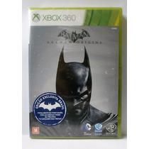 Jogo Batman Arkham Origins Pt-br Xbox 360 - Lacrado