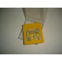Nintendo Pokemon Yellow Roda Gameboy Color Classic Advance