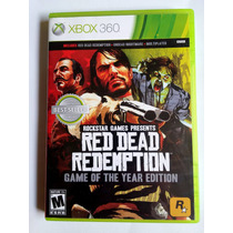 Red Dead Redemption Game Of The Year Xbox 360 Mídia Física