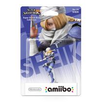 Amiibo Sheik Super Smash Bros New Nintendo 3ds E Wii U