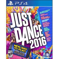 Just Dance 2016 Playstation Ps4 Mídia Física Original