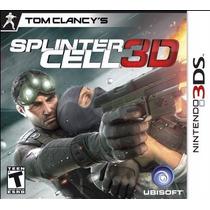 Splinter Cell 3d, Nintendo 3ds, Novo, Lacrado!
