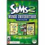 The Sims 2 Mundo Universitário Pc Mídia Física Lacrado