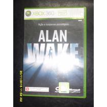 Alan Wake Original Semi Novo