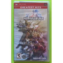 Final Fantasy Tactics: War Of The Lions - Sony Psp