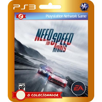 Need For Speed The Rivals (código Ps3) - Envio Rápido!