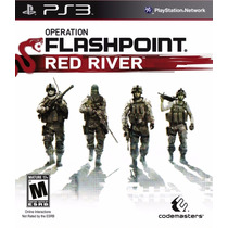Ps3 - Operation Flashpoint Red River Lacrado