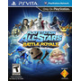 Playstation All-stars Battle Royale Psvita - Novo E Lacrado