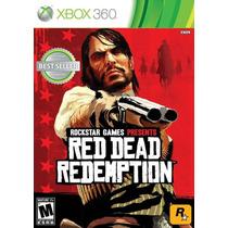 Red Dead Redemption Frete Gratis Jogo Original Xbox 360 X360