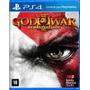 God Of War 3 Remasterizado - Ps4 - Mídia Física