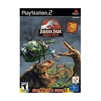 Jurassic Park Operation Genes Ps2 Patch Com Capa E Impressão