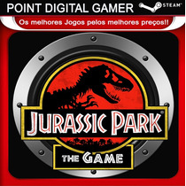 Jurassic Park: The Game - Jogo Original - Steam Pc