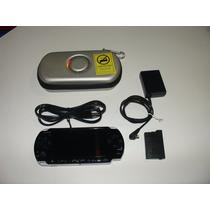 = Video Game Psp Slim 3001 Console Cabo Case Único Dono