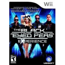 The Black Eyed Peas Experience Wii Usado Original Midia Fis