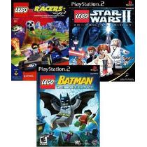 Lego Ps2 Patch (kit C/ 3 Jogos) Frete Grátis