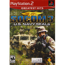 Jogo Playstation Ps2 Socom 3 U.s Navy Seals Original Lacrado