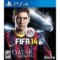 Jogo Do Playstation 4 Fifa 14