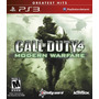 Jogo Call Of Duty 4 Modern Warfare Ps3 Mídia Física Nota F.