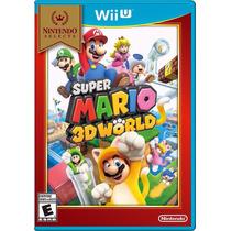 Jogo Novo Lacrado Super Mario 3d World Para Nintendo Wii U