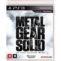 Metal Gear Solid Collection Ps3 , Lacrado, Original,