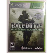 Call Of Duty 4 Modern Warfare Xbox 360 Original Lacrado