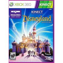 Jogo Kinect Disneyland Adventures Original Xbox 360 -lacrado