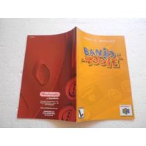 Manual Banjo Tooie Original Gradiente!