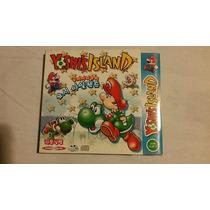 Yoshi Island Super Maior Mario World 2 Pc Original Lacrado