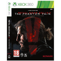Metal Gear Solid V The Phantom Pain / Xbox 360 Jogo Novo