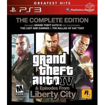 Gta Iv Complete Edition - Ps3 - Lacrado