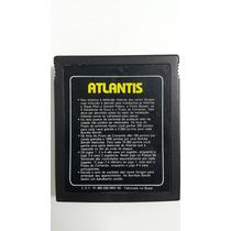 Jogo Atari 2600 Atlantis Cartucho Fita Dactar