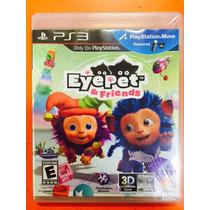 Jogo Eye Pet E Friends Playstation 3 Para Kit Move