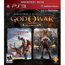 God Of War Collection Jogo Ps3 Original Lacrado