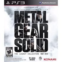 Metal Gear Solid The Legacy Collection Ps3 Física Lacrado