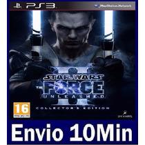 Star Wars The Force Unleashed Ii 2 Digital Ps3 Código Psn